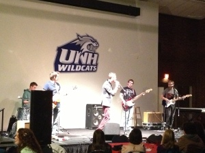 Heads and Tales performed at UNH's The Grind on Friday, Nov. 30 in the Strafford Room. The Grind is one of the few outlets that the band has to perform its music on campus.